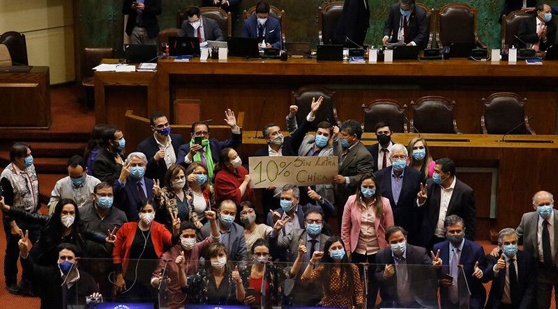 Segundo retiro de fondos de AFP fue aprobado en la Cámara
